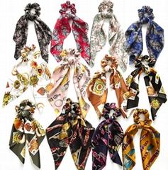 HISUM FASHION Scrunchies scarf