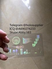 Ohio id overlay  ID state hologram