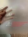 New Michigan ID hologram laminate sheet MI ovi sheet