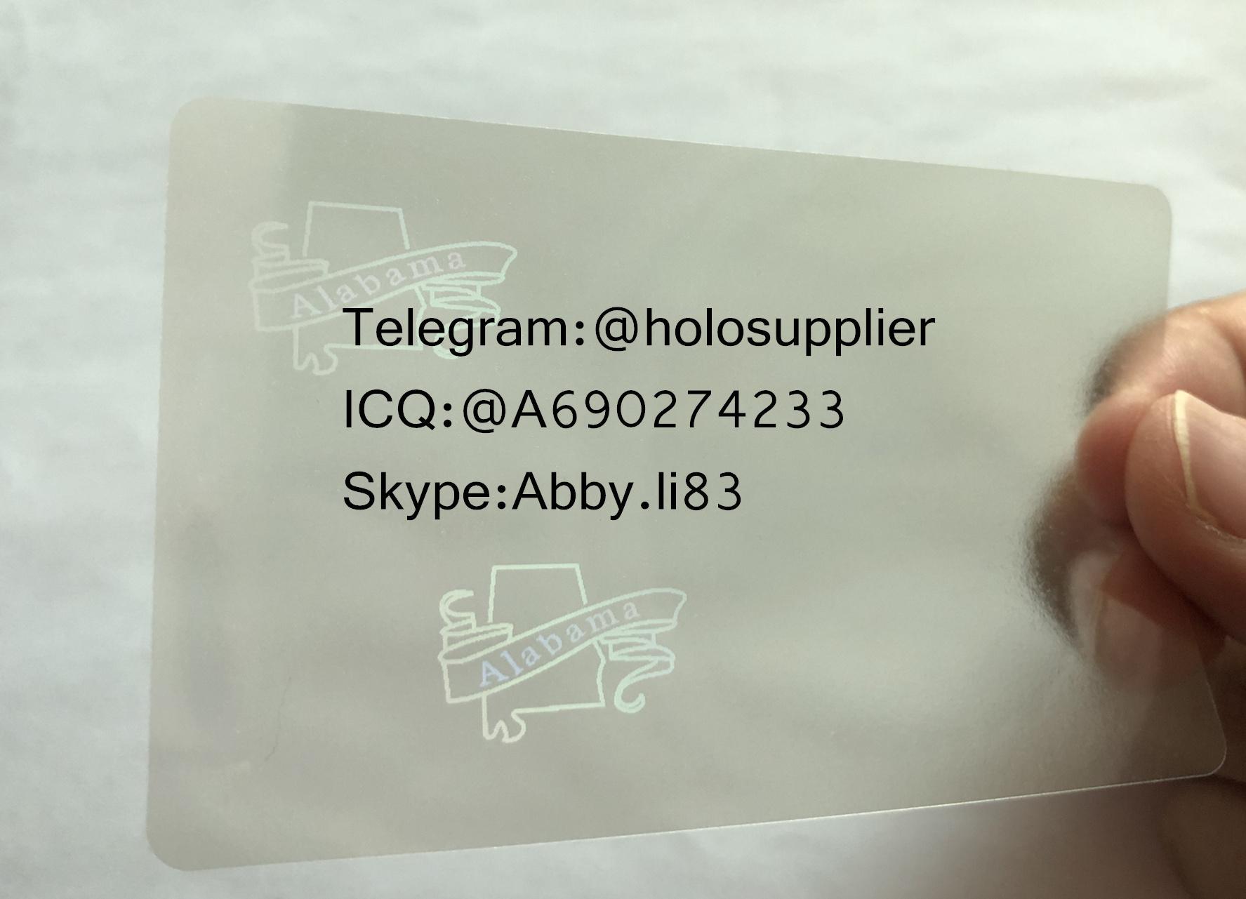 Alabama AL ID hologram overlay Alabama ID templates 1