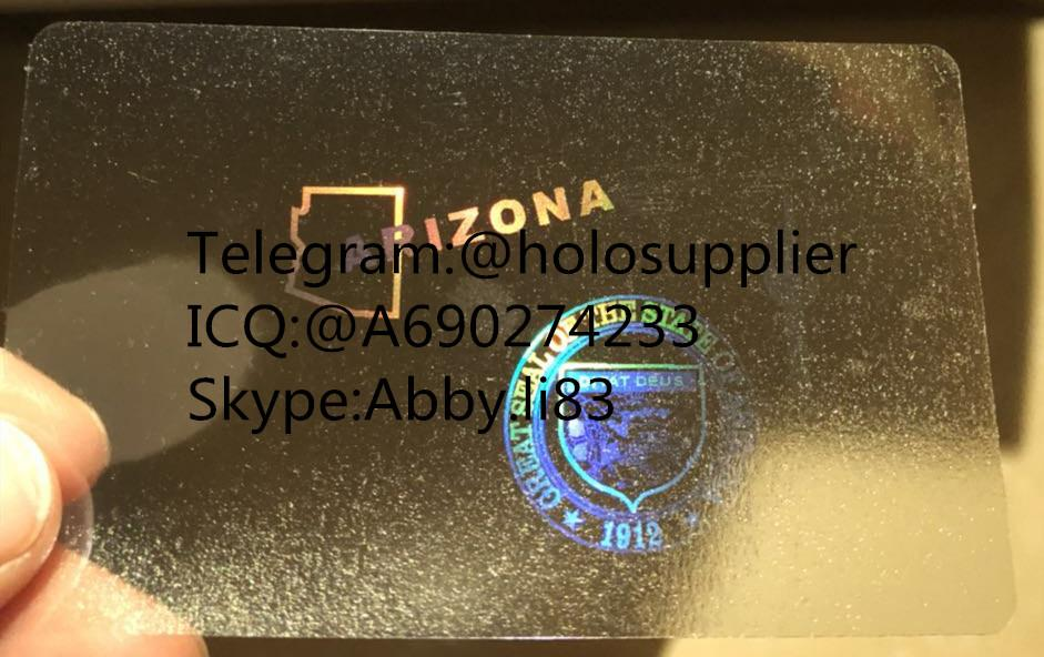 New Arizona id overlay AZ ID state hologram 1