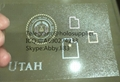 New Utah OVI hologram sticker UT ID