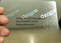 Oregon ID  hologram overlay sticker