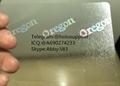 Oregon ID  hologram overlay sticker Oregon OR ID template