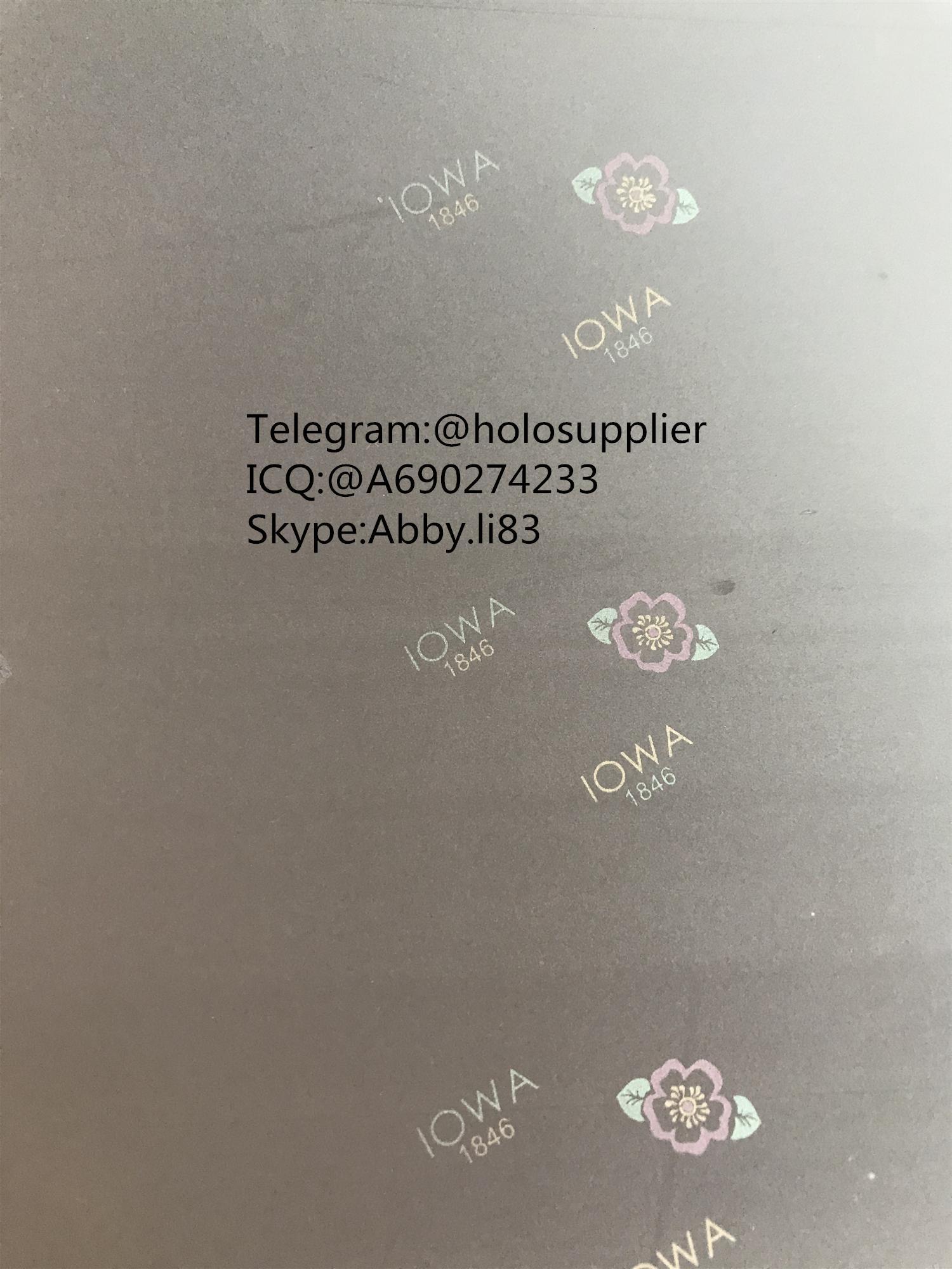Iowa IA ID hologram laminate sheet IA ovi sheet   1