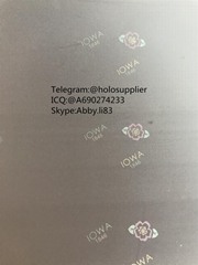 Iowa IA ID hologram laminate sheet IA ovi sheet