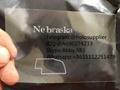 Nebraska NE ID hologram NE state overlay 2
