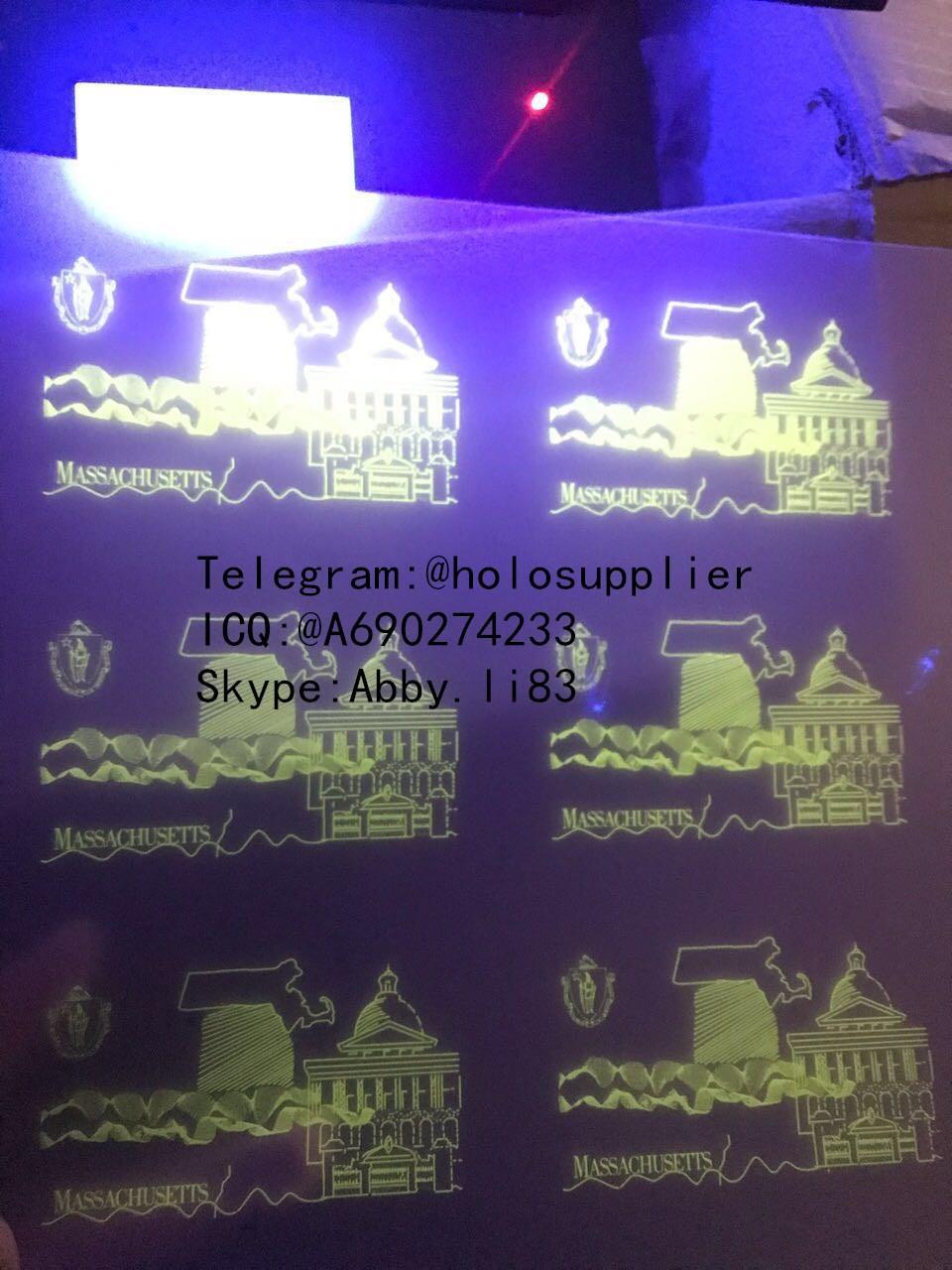 Massachusetts MMA laminate sheet A UV sheet