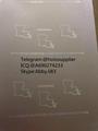 Louisiana ID hologram laminate sheet LA ovi sheet