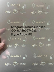 2021 New Maine ID hologram ME laminate sheet