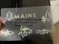 NEW Maine ID overlay ME state hologram 2