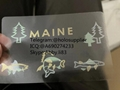 NEW Maine ID overlay ME state hologram