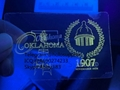 Oklahoma ID hologram OK state overlay