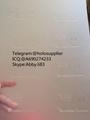 New Oklahoma ID hologram laminate sheet OK  sheet