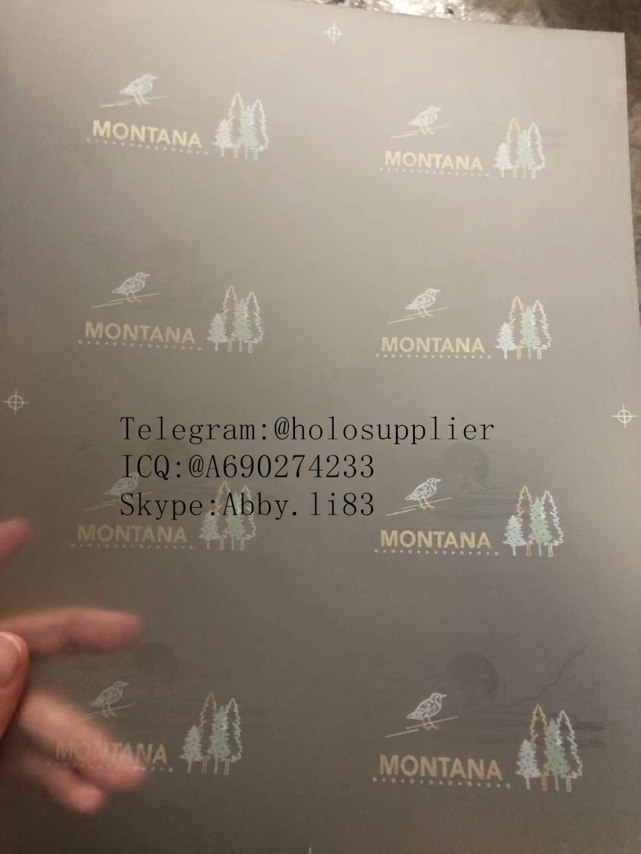 New Montana laminate sheet MT sheet hologram 3
