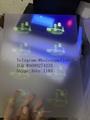New California CA ID hologram  California  UV laminate sheet 3