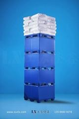 汽车零部件包装箱塑料中空板围板箱