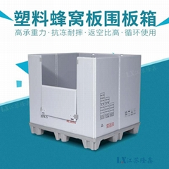 江蘇大型防水防震塑料蜂窩板包裝運輸箱