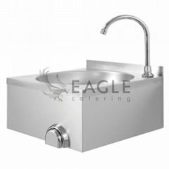 Wall Mounting Knee-Operated Hand Wash Basin