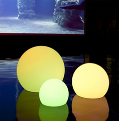 Outdoor waterproof Solar LED Floating Ball Lighting