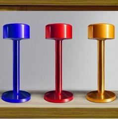 New Metal Cylinder LED Desk lights with battery
