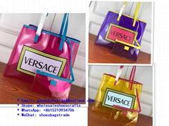 Versace bag Versace handbag Versace purse Versace wallet Versace transparent bag