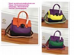 Versace handbags versace purse versace backpack SAVAGE BAROCCO PRINT PALAZZO BAG
