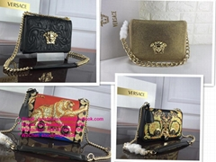 Versace Medusa Head CROSSBody bag Versace Palazzo Evening Clutch leather wallets