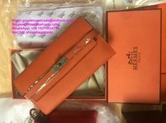 Hermes Clutch Hermes Kelly Classic wallet Hermes Jige Duo verso wallet H purses