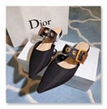 Dior shoes Dior BALLERINA CANVAS J'ADIOR RIBBON SLINGBACK IN PATENT LEATHER shoe