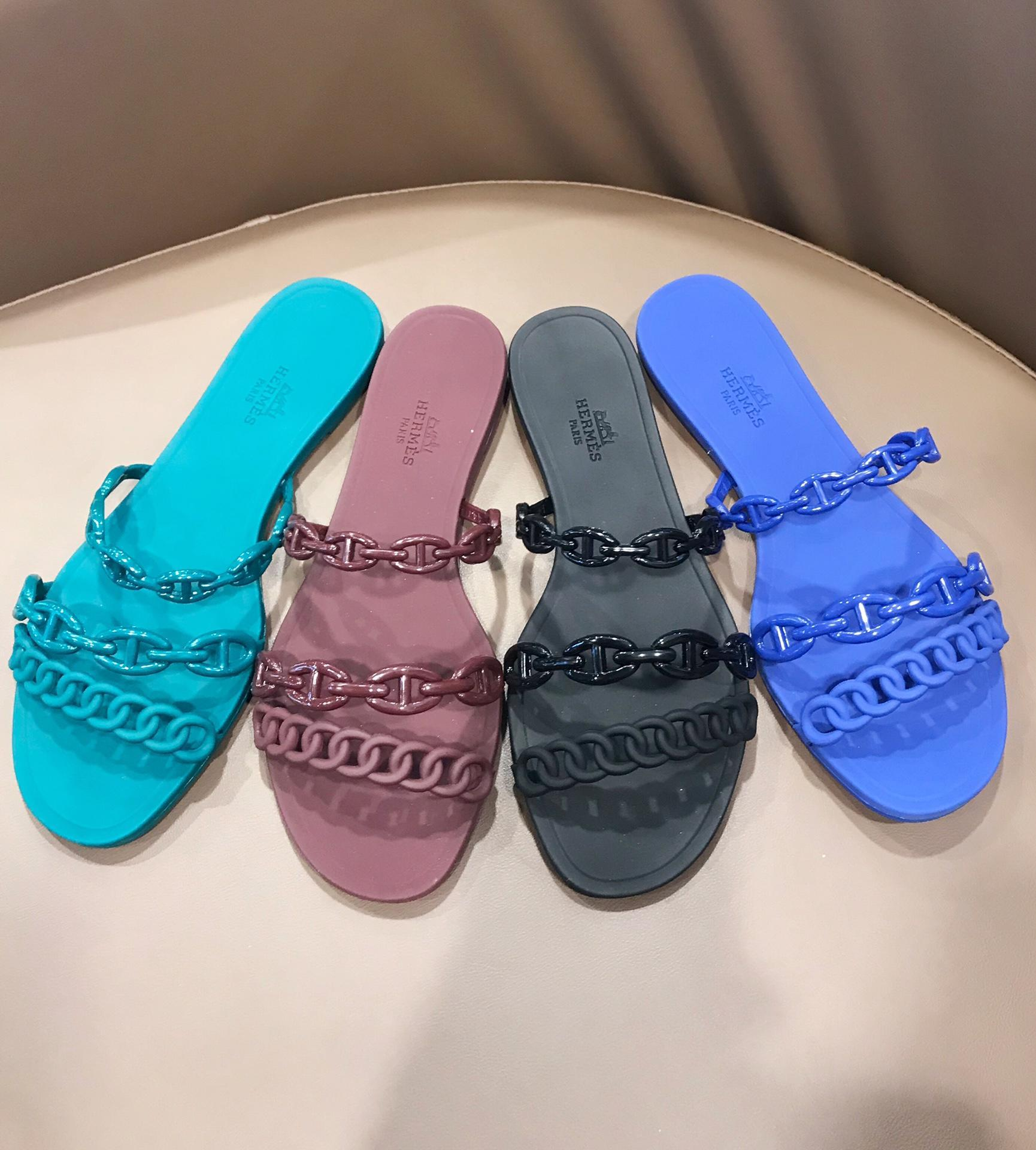 jelly slides shoes Women Jelly Sandals flat slipper        slides        1