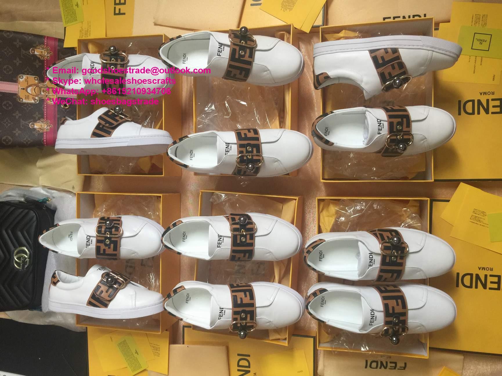 Fendi Sneaker Fendi men shoes Sock-like Upper Boots Fendi women Shoes FF shoes