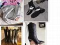 Fendi sneaker fendi women shoes Brown Lycra sneakers fendi Black satin sneakers