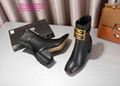 givenchy boots over the knee knitted rainboots in rubber shark lock boots