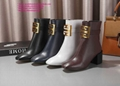 givenchy boots over the knee knitted rainboots in rubber shark lock boots 20
