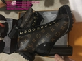 LV boots LV STAR TRAIL ANKLE BOOT Louis vuitton boots SILHOUETTE ANKLE BOOT shoe