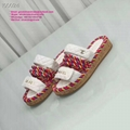 CC slippers with pearls CC sandals CC slides CC shoes COCO slippers Women Transp