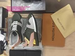 LV RUN AWAY SNEAKER Louis Vuitton sneaker STELLAR SNEAKER BOOT LV TRAINER SNEAKE
