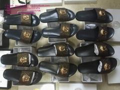 Versace Medusa head beach slippers Versace sandals Versace slides studs slippers