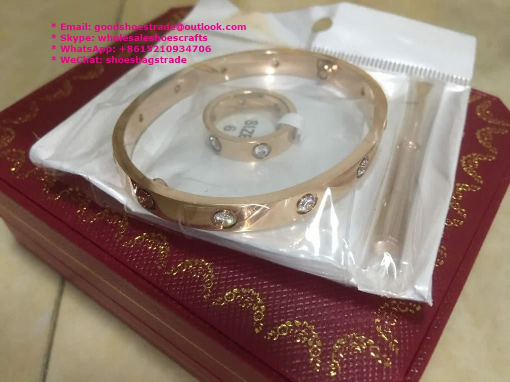 Cartier Bracelet Cartier Stainless Bracelet Cartier Wristband Bangle earrings 4