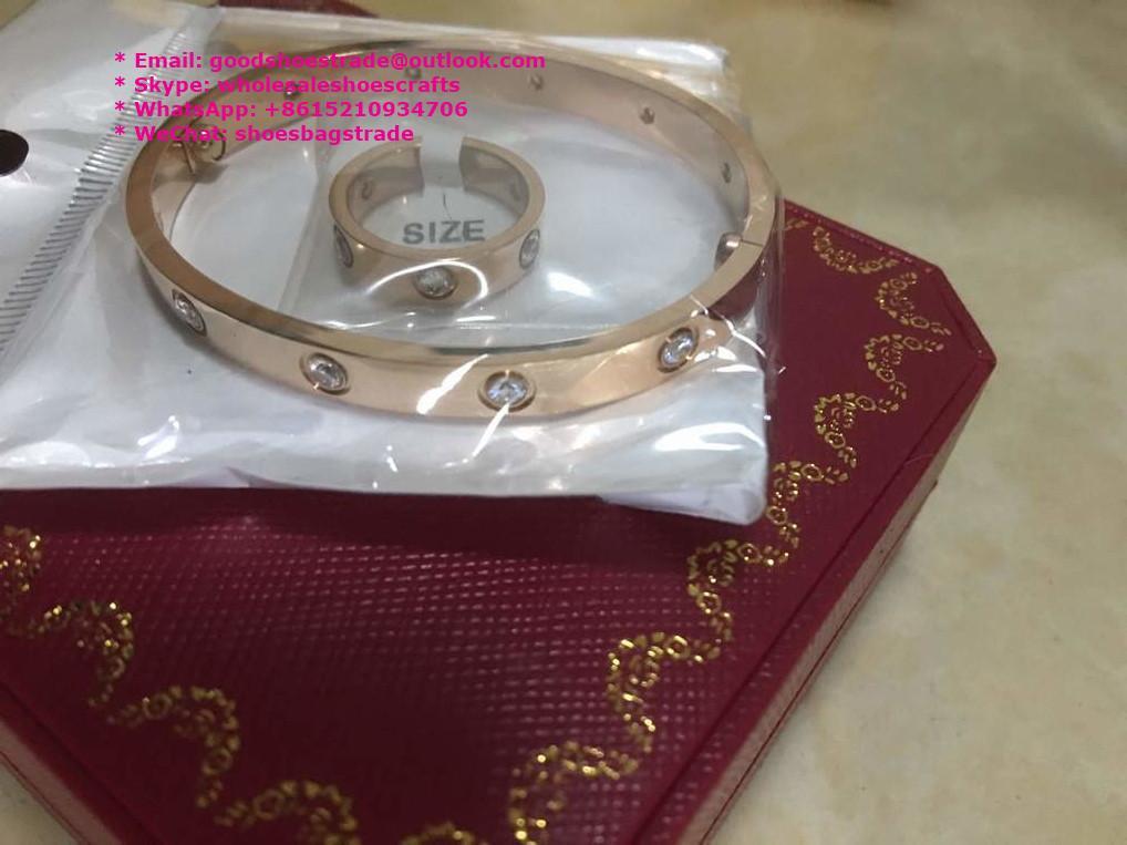 Cartier Bracelet Cartier Stainless Bracelet Cartier Wristband Bangle earrings 5