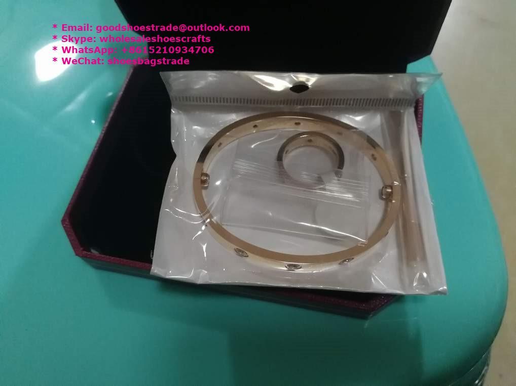 Cartier Bracelet Cartier Stainless Bracelet Cartier Wristband Bangle earrings 14
