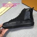 louis vuitton tattoo sneaker boot lv sneaker Navy Blue STELLAR SNEAKER boot men'