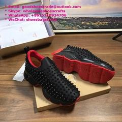 Christian Louboutin Spike Sock Donna Flat shoes CL Sneakers CL shoes CL men shoe