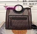 Fendi RUNAWAY SHOPPER fendi PU shopper Fendi Runaway FF Shopper Fendi Tote Bags