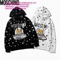 Moschino Cash Prize Teddy Hoodie Jeremy Scott bear oversize sweatshirt Pullover