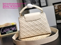Louis Vuitton capucines PM handbags LV handbag 2020 New arrival handbag LV purse 17