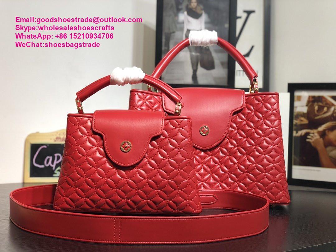 Louis Vuitton capucines PM handbags LV handbag 2020 New arrival handbag LV purse 11