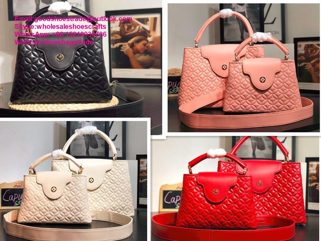Louis Vuitton capucines PM handbags LV handbag 2020 New arrival handbag LV purse 1