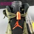 Nike Air Jordan 6 Travis Scott Cactus Jack Olive jordan shoes jordan men's shoes